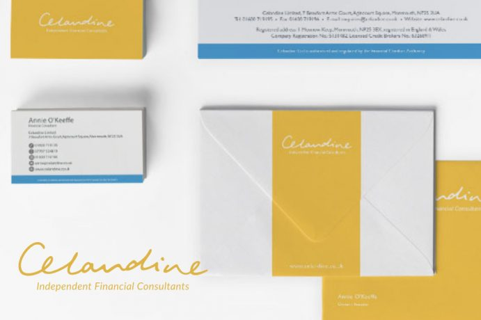 Celandine Monmouth - Stationary Design by Orangedrop Newport