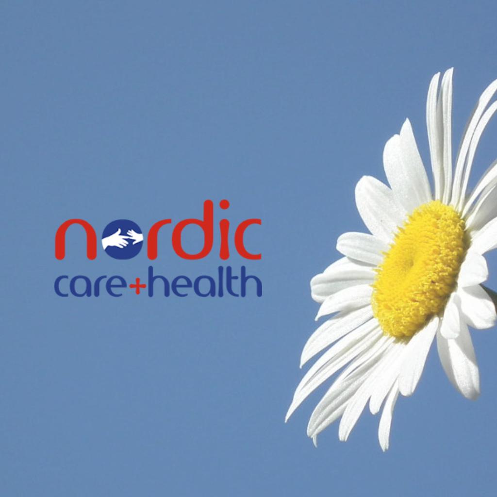 Nordic Care Website Cover Image by Orangedrop Web Design Newport